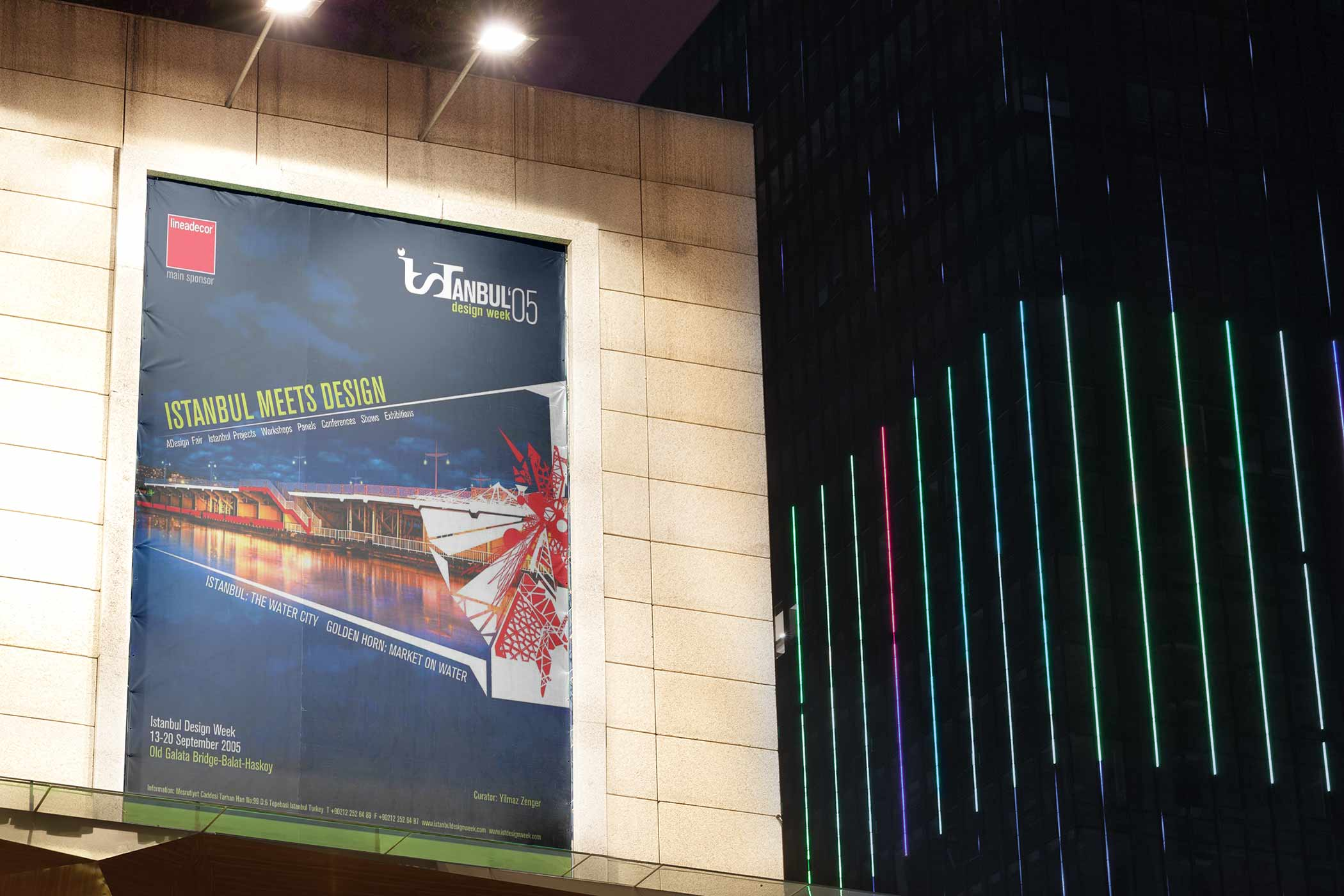 Istanbul Design Week - (Turkey): Event Billboard | Poster Design