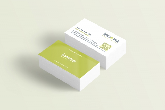 Innova - (Hong Kong): Identity | Branding | Business Card Design