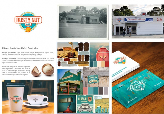 Rusty Nut Cafe | Australia | Branding and Logo Design