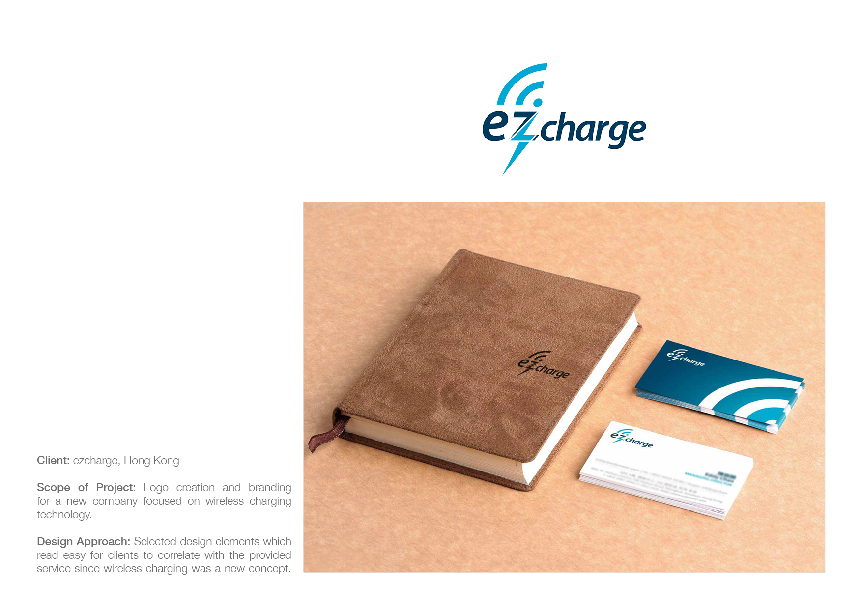 Ezcharge - (Hong Kong): Identity | Branding | Logo | Business Card Design